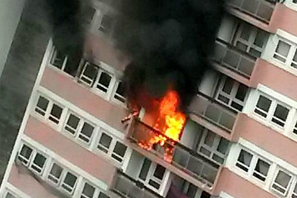 залив квартиры от пожара